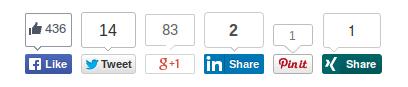 Social Like Counts for Social Proof