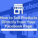 sell with facebook shop