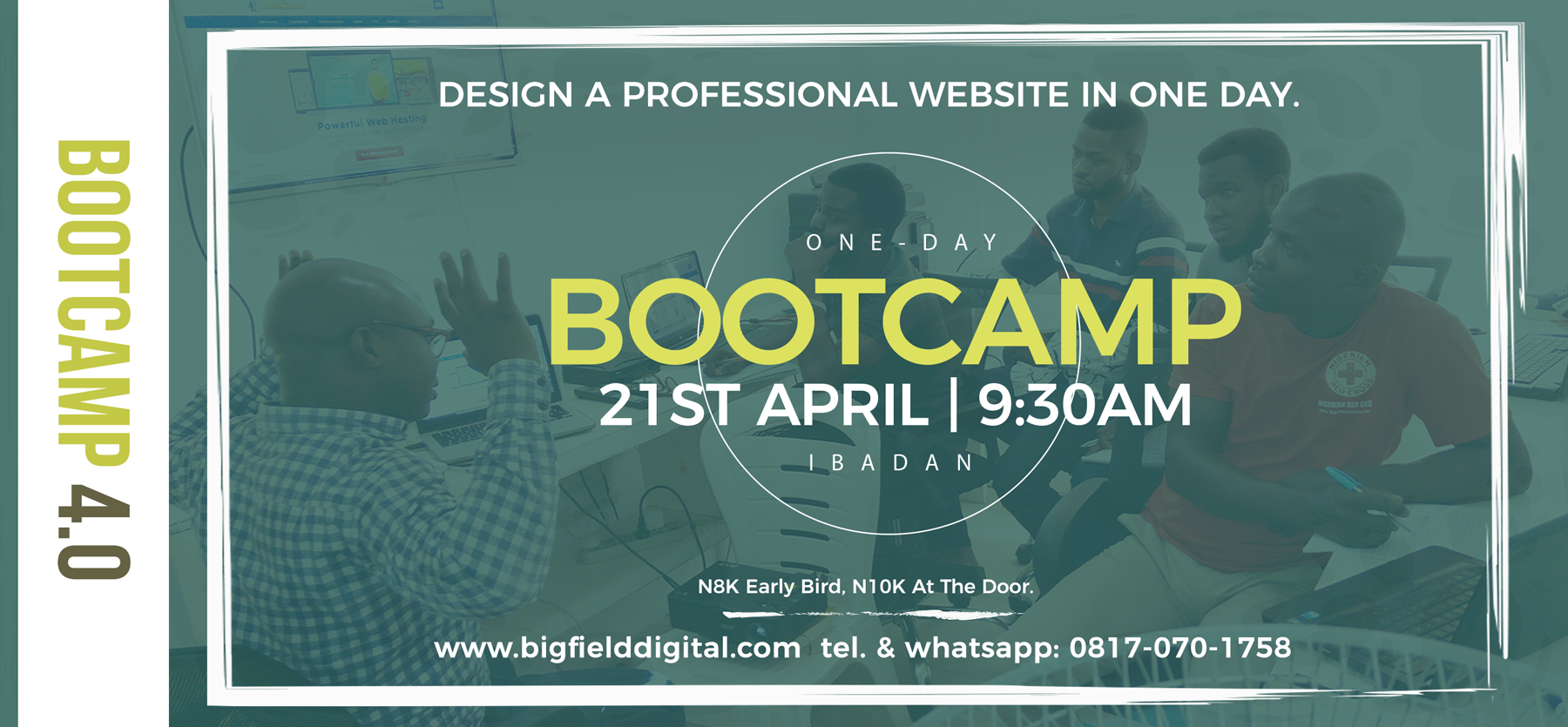 Web design Bootcamp