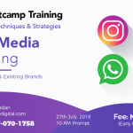 Bootcamp 5.0 | Social Media Marketing for Growing New & Existing Brands