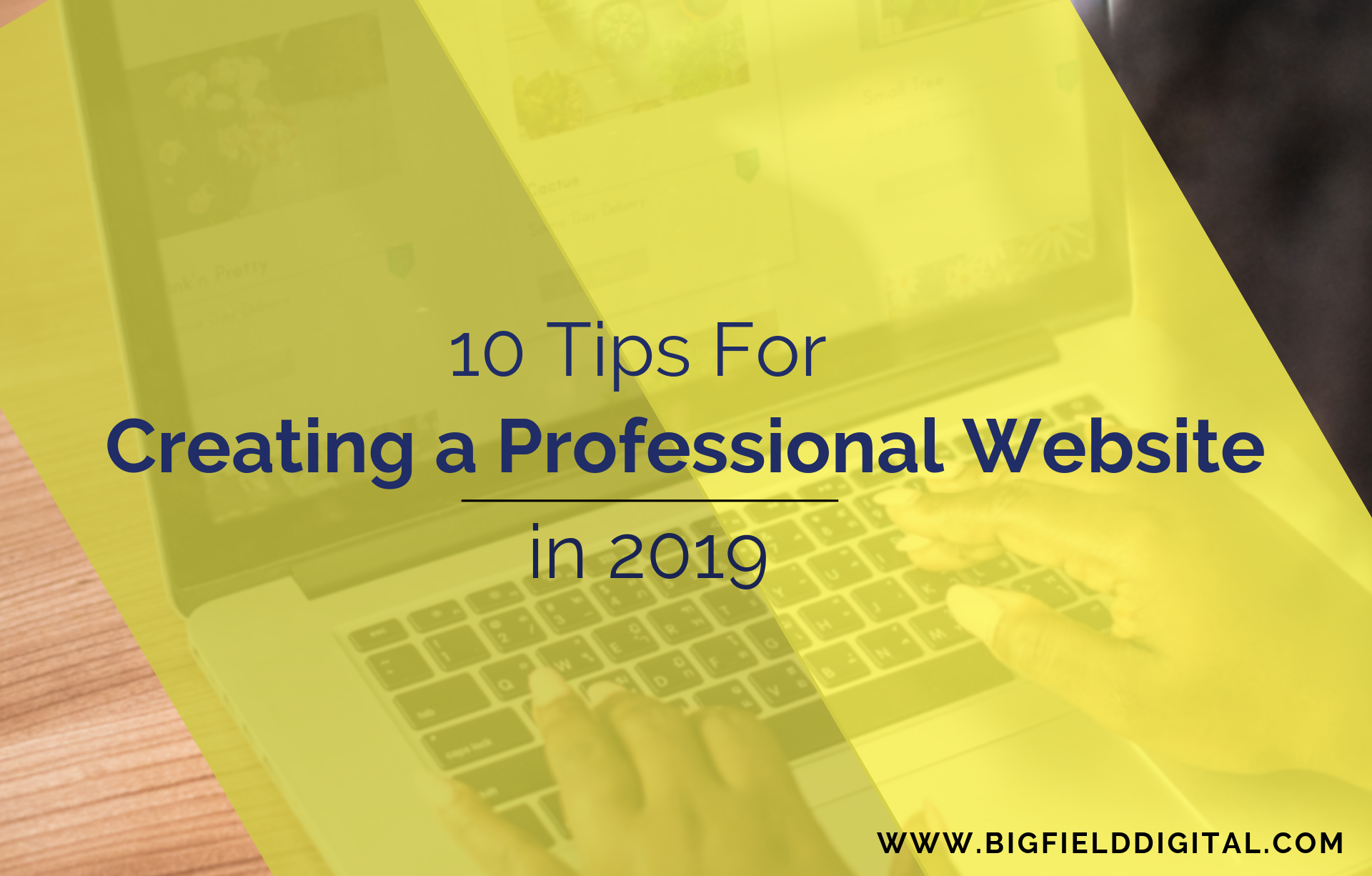 10 tips for creating a website in 2019
