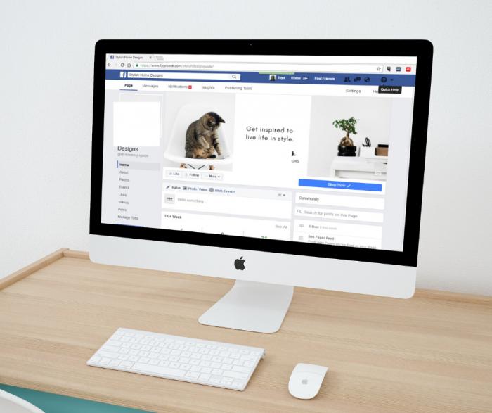Facebook Shop Update Sample