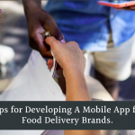mobile app for food delivery