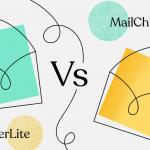 comparisons of Mailchimp and Mailerlite