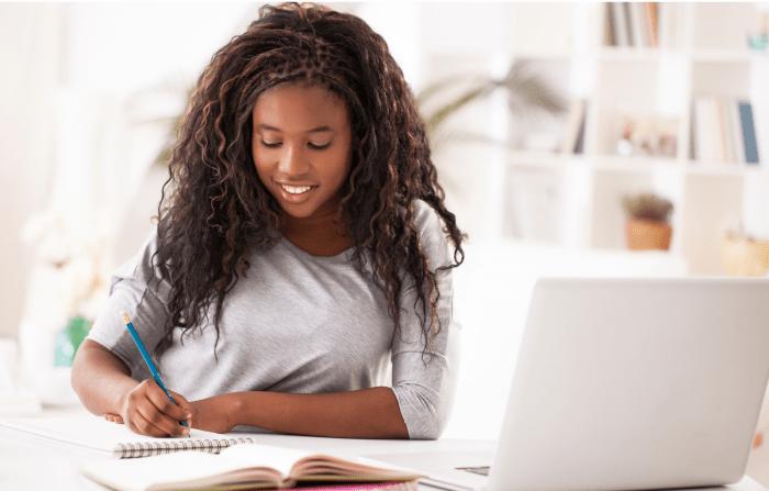 black female writer